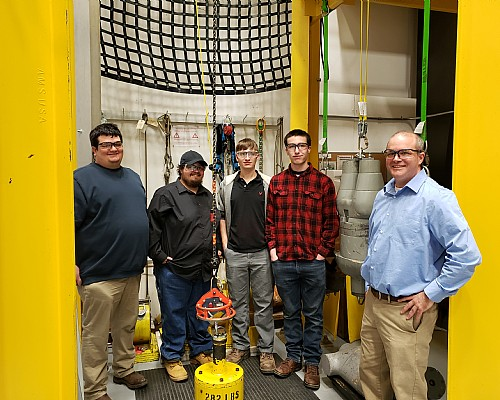 ELLWOOD's EHS Team Tours Honeywell's Miller Fall Protection Division with Shenango High School STEM Students